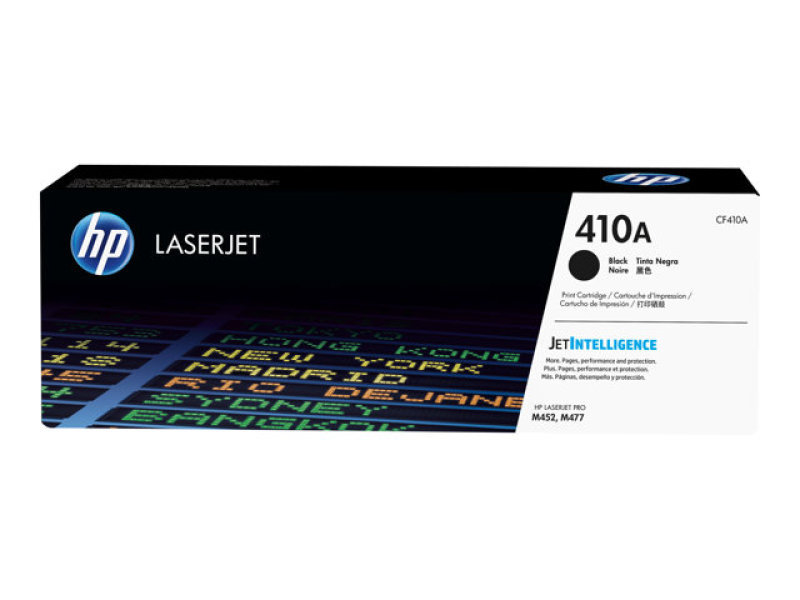 HP 410A Black Original LaserJet Toner Cartridge - CF410A