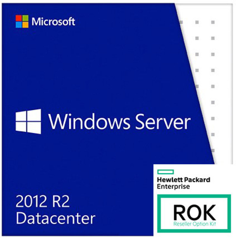Windows Server 2012 R2- Datacenter Edition (HPE ROK)
