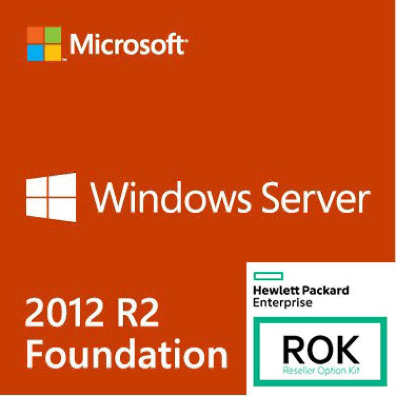 Windows Server 2012 R2 - Foundation Edition (HPE ROK)