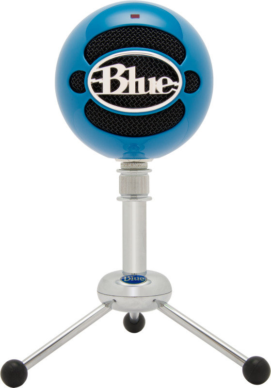Image of Blue Microphones Snowball USB Microphone Neon Blue