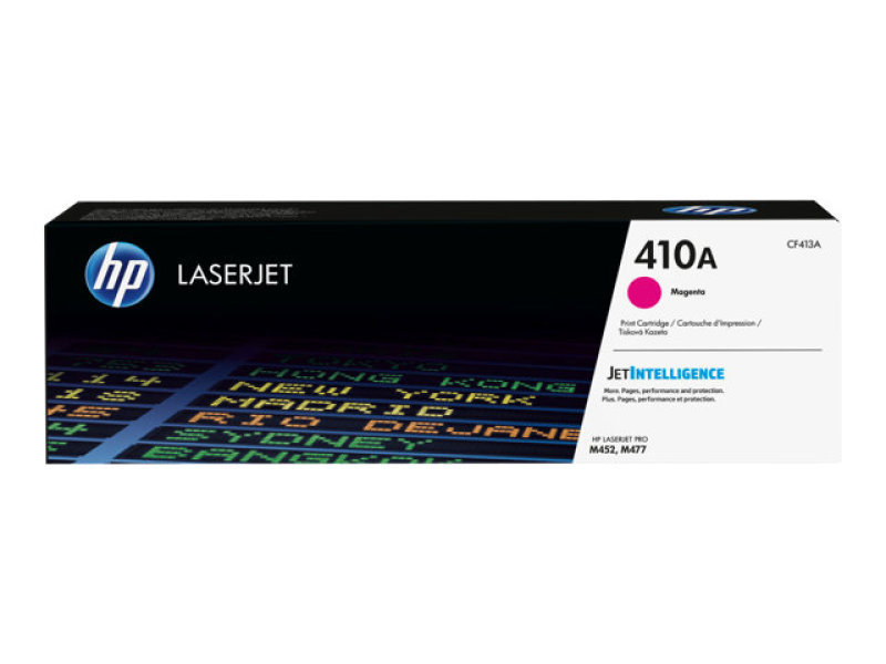 HP 410A Magenta Original LaserJet Toner Cartridge - CF413A