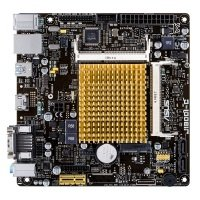 Asus J1800I-C Intel Celeron VGA HDMI 8-Channel HD Audio Mini ITX Motherboard