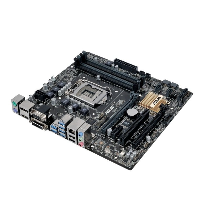 Asus Q170M-C Socket LGA 1151 VGA DVI-D HDMI DisplayPort 7.1-Channel HD Audio uATX Motherboard