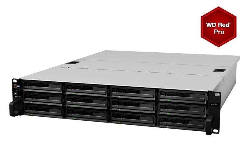 Synology RS3614xs+ 60TB (12 x 5TB WD Red Pro) 12 Bay 2U Rackmount NAS