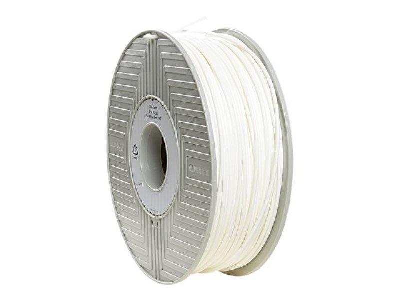 Verbatim ABS White 3D Printing Filament Reel 2.85mm 1kg