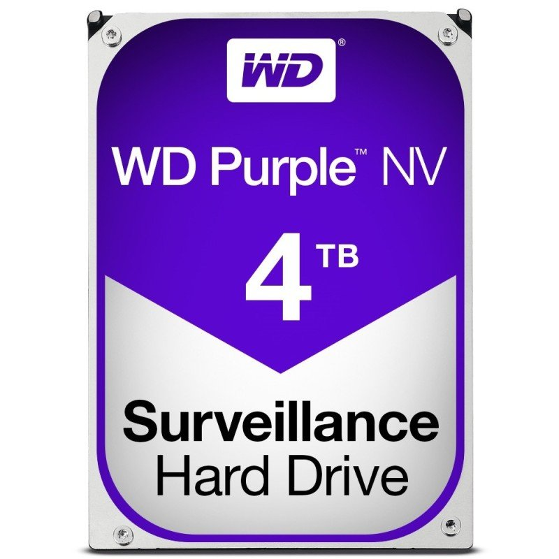 WD Purple NV 4TB 3.5&quot SATA Surveillance Hard Drive