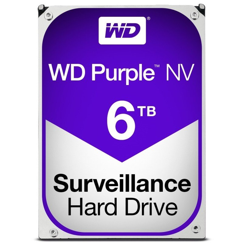 WD Purple NV 6TB 3.5&quot SATA Surveillance Hard Drive