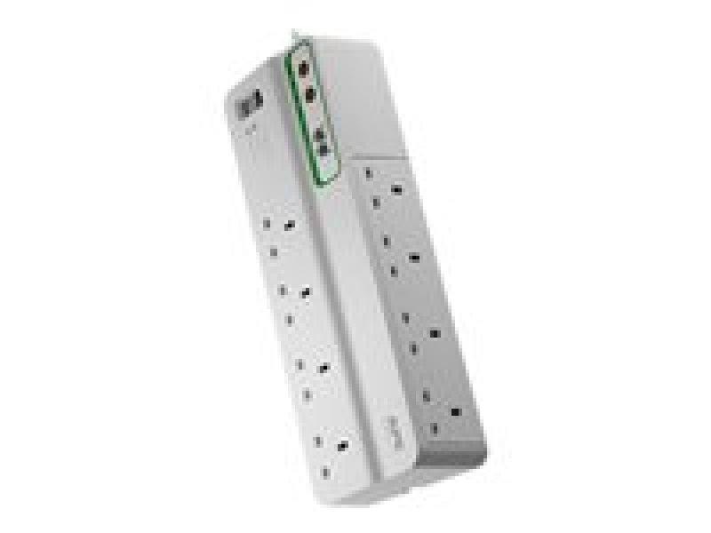 APC SurgeArrest Performance Surge protector AC 230 V 8 Output Connector(s) White