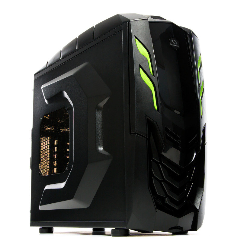 Image of Raidmax Viper GX ATX-512WBG Black/Green Steel / Plastic ATX Mid Tower Computer Case