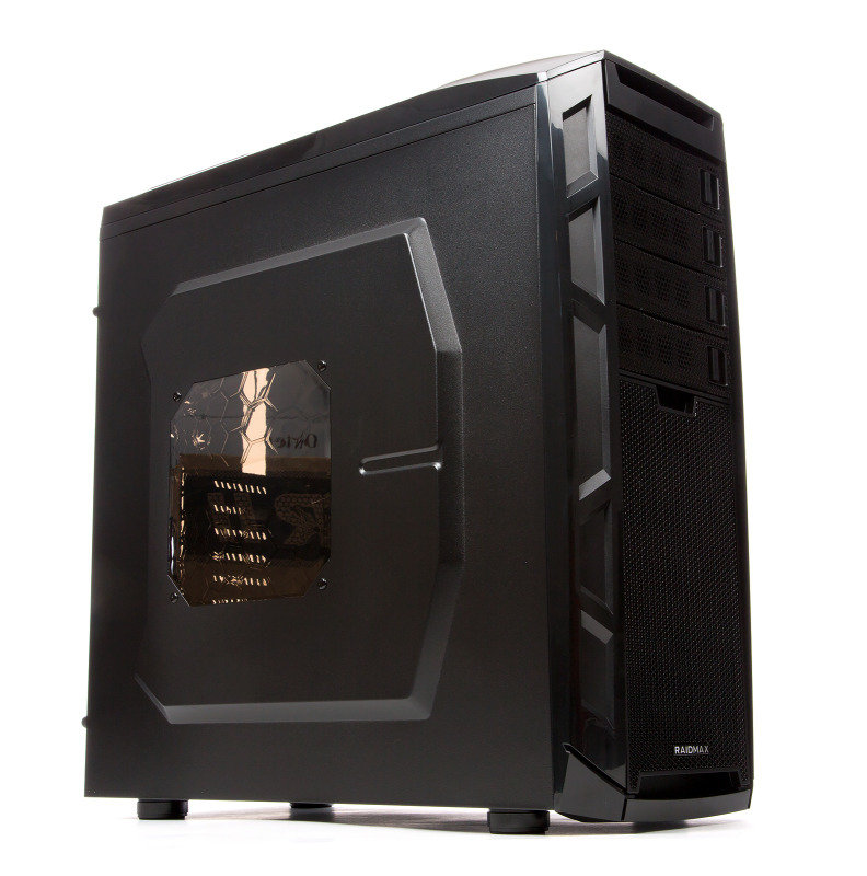 Image of Raidmax Narwhal ATX-920WBTI Black/Titanium Steel / Plastic ATX Full Tower Computer Case