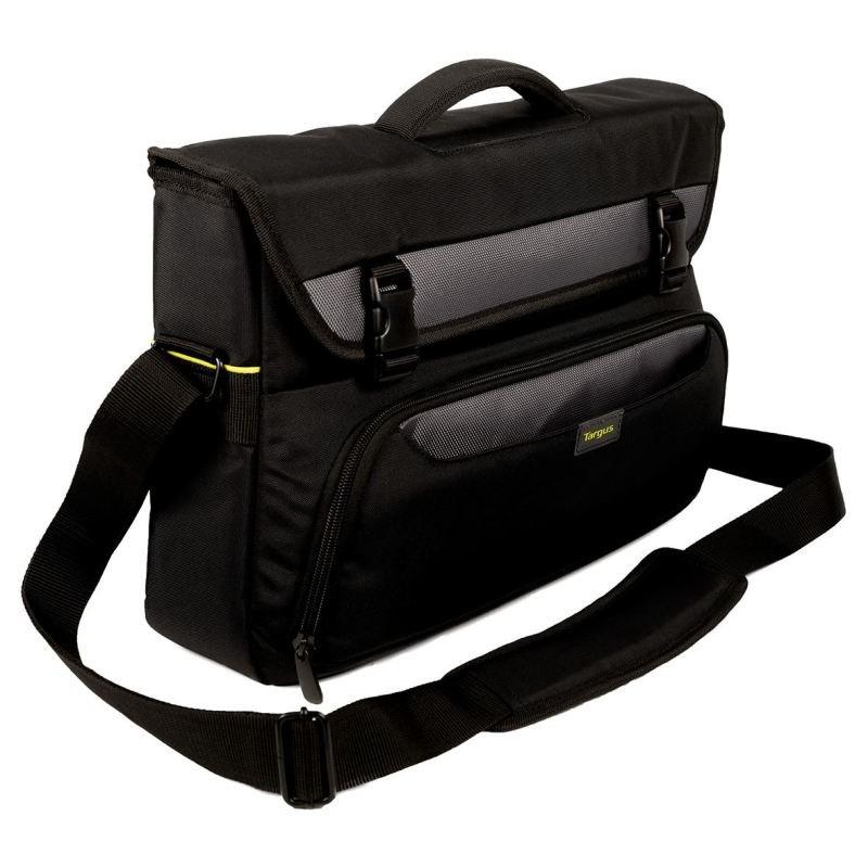 Targus City Gear 10&quot  14&quot Laptop Messenger  Black