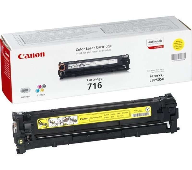 CANON 716 YELLOW CARTRIDGE (CAN.LBP-5050)