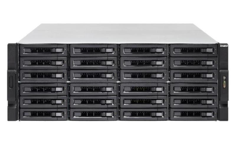 Qnap TS-EC2480U-RP 120TB (24 x 5TB) WD Red Pro 24 Bay 4U Rack NAS