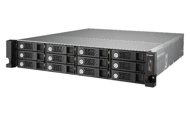 QNAP TS-1253U 60TB (12 x 5TB WD Red Pro) 12 Bay 2U Rackmount NAS