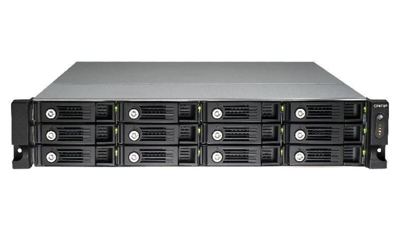QNAP TVS-1271U-RP-PT- 4GB RAM 60TB (12 x 5TB) WD Red Pro 12 Bay 2U Rack NAS