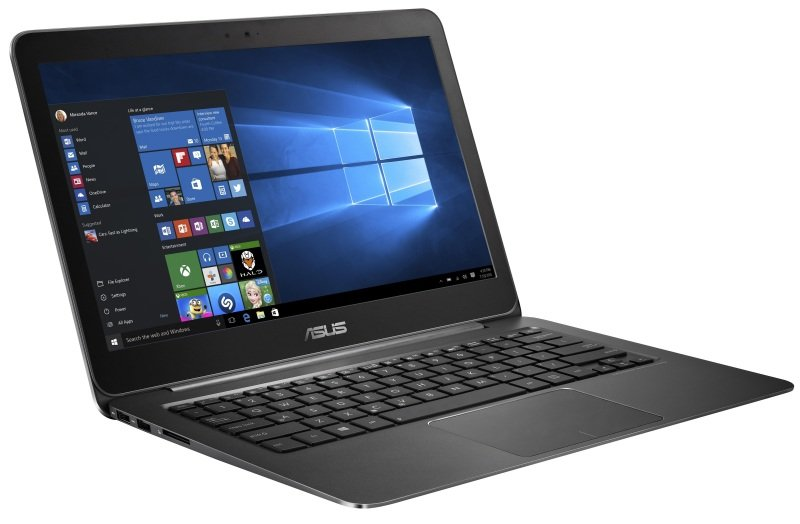 "Image of Asus Zenbook UX305CA Laptop, Intel Core M-6Y54 1.1GHz, 8GB RAM, 256GB SSD, 13.3"" FHD, No-DVD, Intel HD, Webcam, WIFI, Windows 10 Home 64bit"