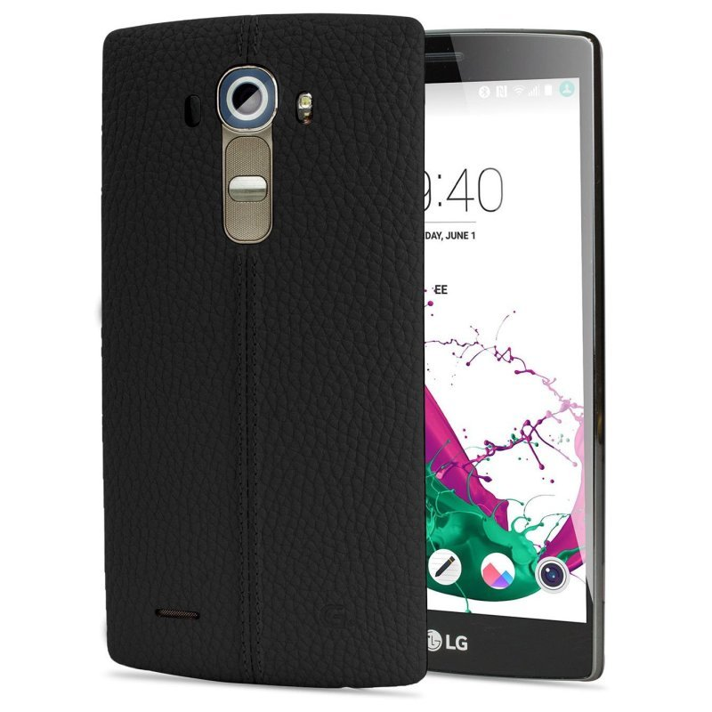 LG G4 Leather Cover  Black CPR110.AGEUBK
