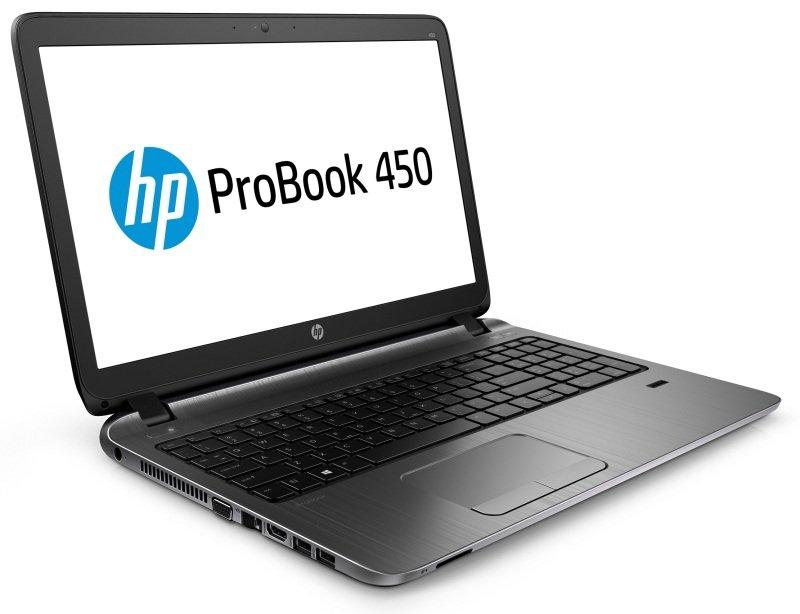 "Image of HP ProBook 450 G3 Laptop, Intel Core i3-6100U 2.3GHz, 4GB RAM, 128GB SSD, 15.6"" LED, DVDRW, Intel HD, WIFI, Bluetooth, Fingerprint Reader, Webcam, Windows 7 + 10 Professional 64"