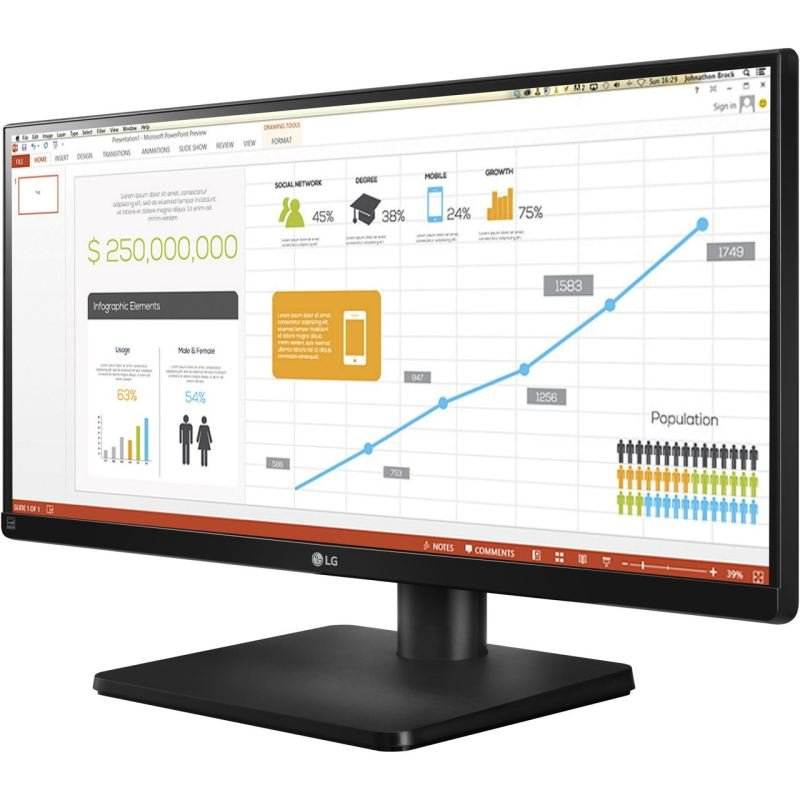 "LG 29UB67 29"" Full HD IPS Monitor"