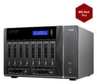 QNAP TVS-EC1080-E3 60TB (10 x 6TB WD RED PRO) 16GB RAM 10 Bay NAS