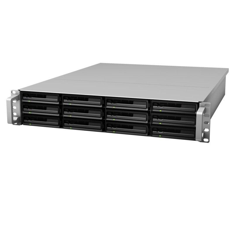 Synology RX1213SAS 72TB (12 x 6TB WD Red Pro) 12 Bay 2U Expansion Unit