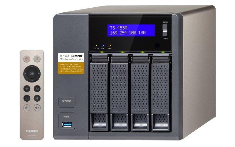QNAP TS-453A-8G 8GB RAM 4 Bay Desktop NAS Enclosure