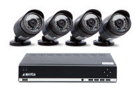 Xenta 1TB 8 Channel HD DVR with 4 x Camera CCTV Kit