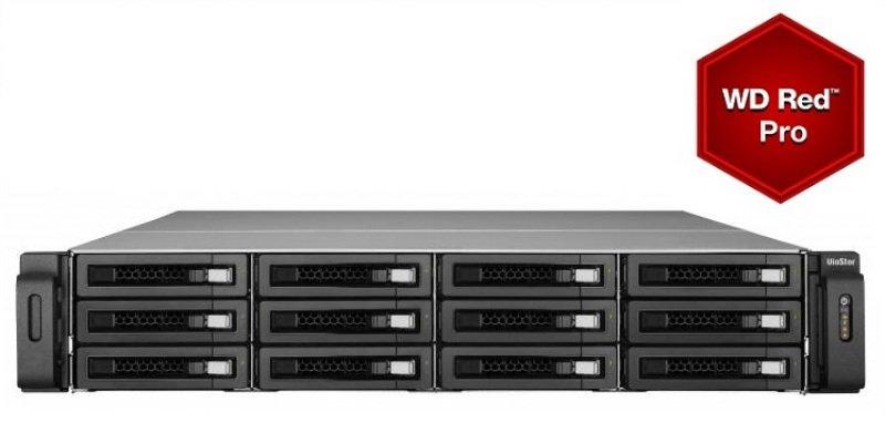QNAP VS-12140U-RP-Pro 48TB (12 x 4TB Red Pro) 40 Channel 12 Bay 2U NVR