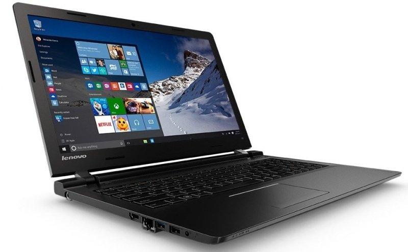 Image of Lenovo IdeaPad 100-15IBD Laptop, Intel Core i3-5005U 2GHz, 8GB RAM, 1TB HDD, 15.6 HD, No-DVD, Intel HD, WIFI, Bluetooth, Webcam, Windows 10 Home 64bit