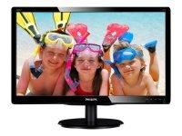 "Philips 200V4LAB2 19.5"" VGA DVI Monitor"