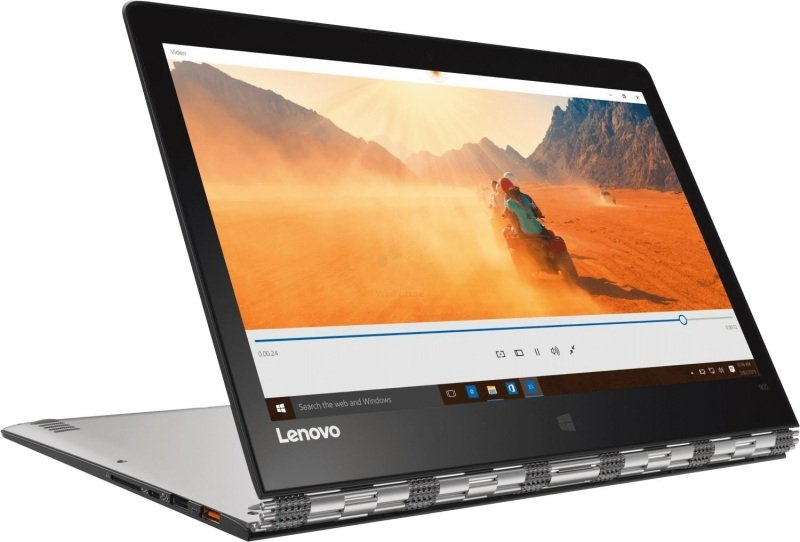"Image of Lenovo Yoga 900-13ISK Convertible Laptop, Intel Core i7-6500U 2.5GHz, 16GB RAM, 512GB SSD, 13.3"" QHD+ Touch, No-DVD, Intel HD, WIFI, Webcam, Bluetooth, Windows 10 Home"