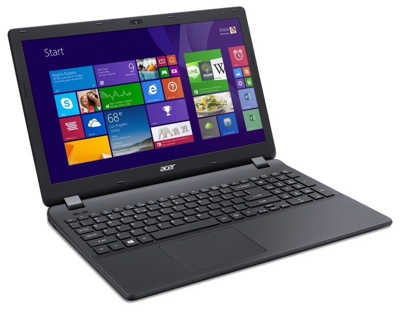 Image of Acer Aspire ES1-531 Laptop, Intel Pentium Quad Core N3700, 8GB RAM, 500GB HDD, 15.6 HD, DVDRW, Intel HD, WIFI, Webcam, Bluetooth, Windows 8.1 64-bit