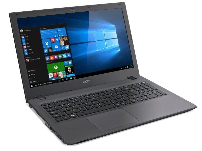 "Image of Acer Aspire E5-573 Laptop, Intel Celeron 2957U 1.4GHz, 500GB HDD, 4GB RAM, 15.6"" LED, DVDRW, Intel HD, WIFI, Webcam, Bluetooth, Windows 10 64bit"