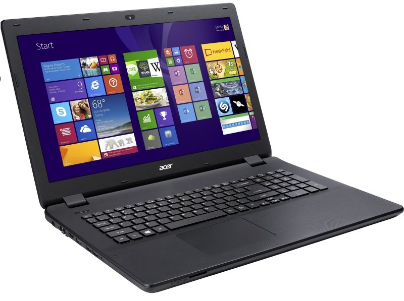 "Image of Acer Aspire E5-772 Laptop, Intel Core i3-5005U 2GHz, 500GB HDD, 4GB RAM, 17.3"" LED, DVDRW, Intel HD, WIFI, Webcam, Bluetooth, Windows 10 64bit"