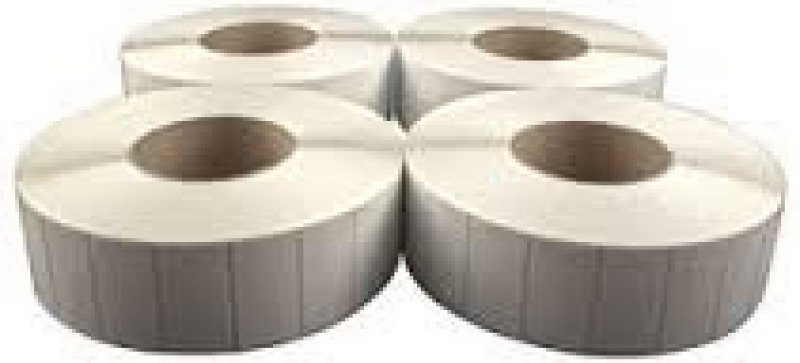 Image of Wasp Thermal Barcode Label Quad Pack For W600/wpl606/wpl608/wpl610 (2.0 Inch X 1.0 Inch) - 5560 Labels Per Roll
