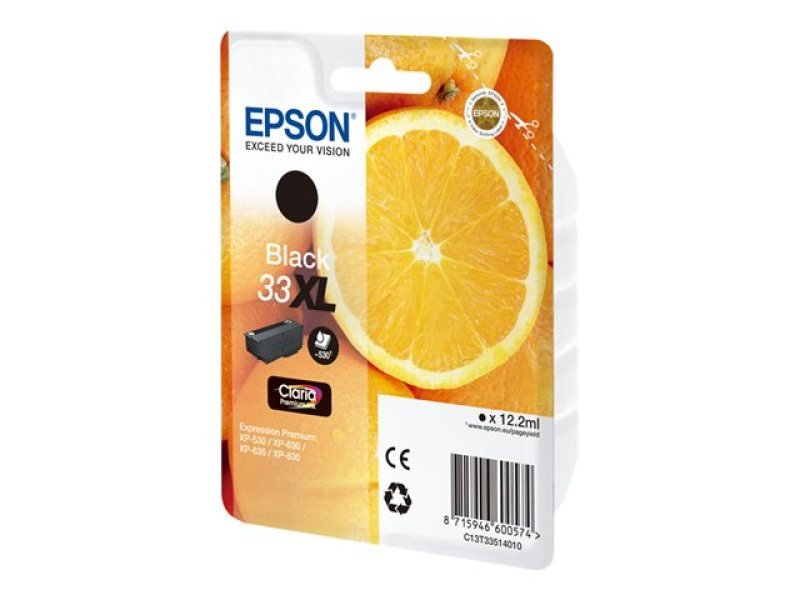 Epson 33XL Black Inkjet Cartridge