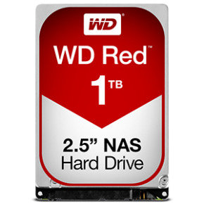 "WD Red 1TB 2.5"" SATA NAS Hard Drive"