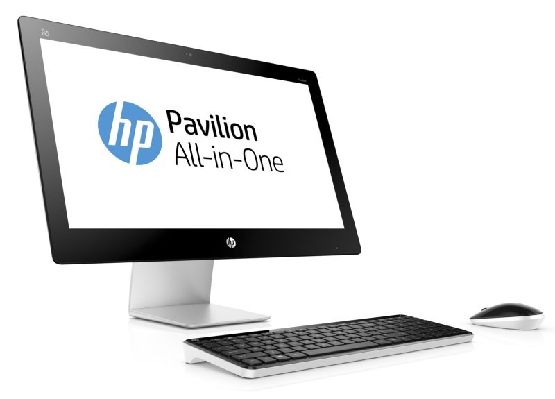 "HP Pavilion 23q125na AIO Desktop Intel Pentium G3260T 2.9GHz 8GB RAM 1TB HDD 23"" FHD Touch DVDRW Intel HD WIFI Webcam Bluetooth Windows 10 Home 64bit"