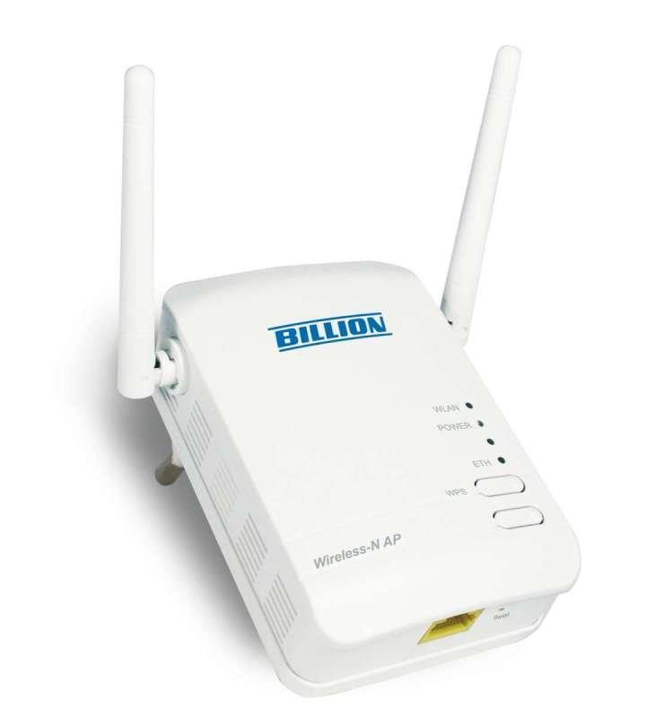 Image of Billion BIPAC 3100SN Wireless-N Wall Plug Access Point