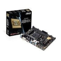 Asus A68HM-K Socket AMD FM2+ VGA DVI 8-Channel HD Audio mATX Motherboard