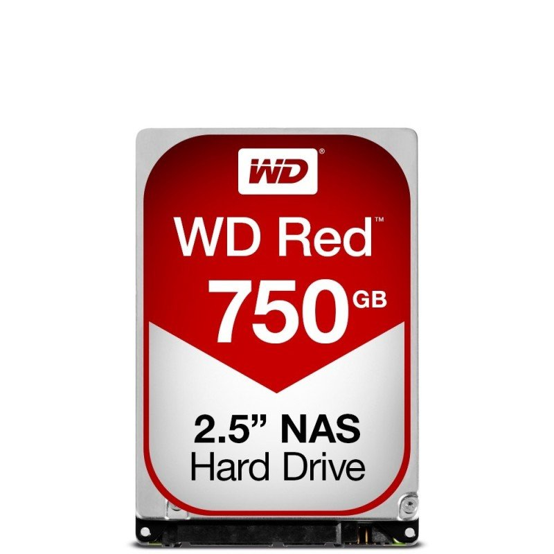 "WD Red 750GB 2.5"" SATA NAS Hard Drive"