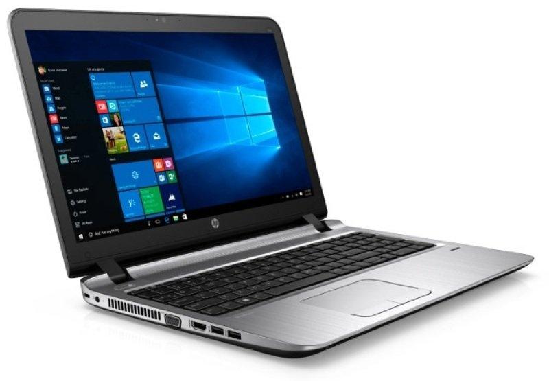 "Image of HP ProBook 450 G3 Laptop, Intel Core i3-6100U, 4GB RAM, 500GB HDD, 15.6"" LED, DVDRW, Intel HD, WIFI, Webcam, Bluetooth, Windows 10 Pro downgraded to Windows 8.1 Pro"