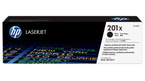 HP 201X High Yield Black Toner Cartridge - CF400X