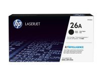 HP 26A Black LaserJet Toner Cartridge with JetIntelligence - CF226A