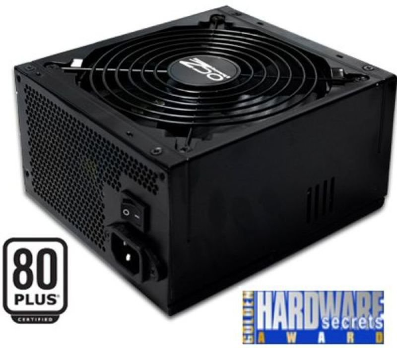 OCZ 400W Stealth XStream PSU - 140mm Fan 1x PCI-E 4x SATA