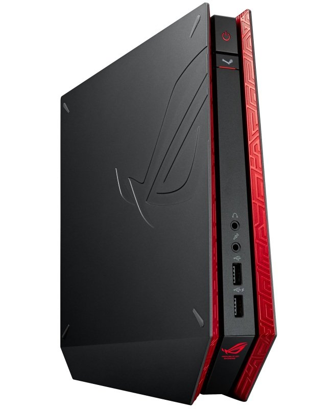 Computers ASUS ROG GR6 R014R Gaming PC, Intel Core i5-5200U 2.2GHz, 8GB RAM, 1TB HDD, No-DVD, NVIDIA GF GTX 960M, WIFI, Windows 8.1 64bit