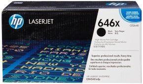 HP 646X Black Toner Cartridge - CE264X