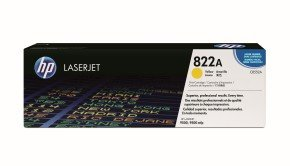 HP 822A Yellow Toner Cartridge 25,000 Pages - C8552A