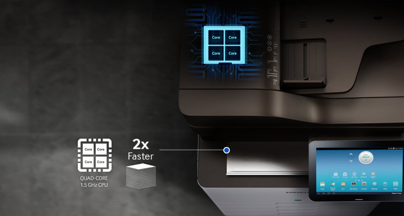 Samsung SL-K7500LX 50 ppm A3 Multi-function Mono Laser Printer
