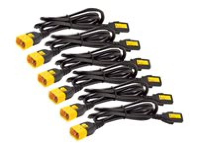 APC Power Cord Kit (6 Ea), Locking, C13 To C14, 0.6m